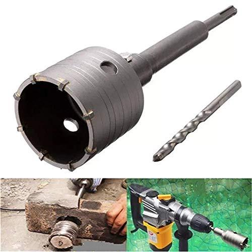 LIPENLI Con perforar SDS más vástago de 65 mm agujero consideró Bit cortador de perforación de hormigón de cemento Pared de piedra accesorios del taladro