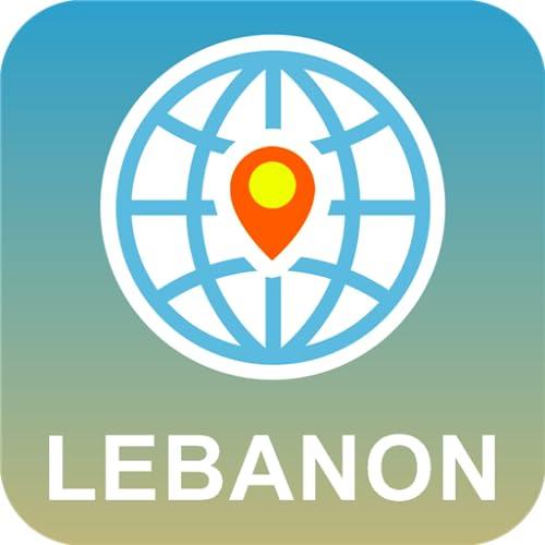 Líbano Mapa off-line