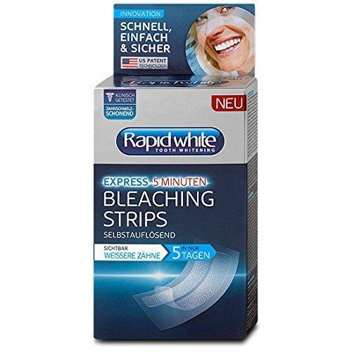 Rapid White Express Bleaching Strips for teeth whitening / Rapid White...