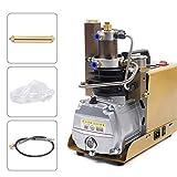 Compresores de Aire Eléctrico Compresor Aire Buceo Alta Presión 1800 W PCP 30 MPA 4500 PSI, bomba de aire para bombear cilindros de inmersión, prueba de estanqueidad, depósito de presión