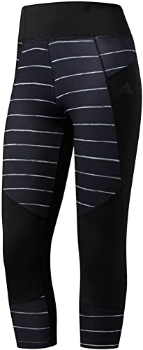 adidas Damen Training Performer Print High Rise 3 4 Tights