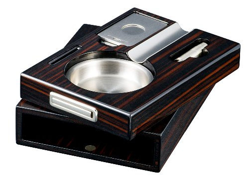 Visol Cristobal Fire-Resistant Resin Cigar Ashtray VASH501 Visol Products