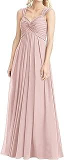 JAEDEN Bridesmaid Dress Chiffon Long Prom Dress Sweetheart Evening Gown Formal Dresses for Wedding