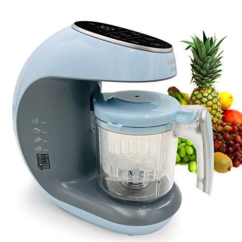 Molinillo para hacer comida de bebé – molinillos y vaporizador 7 en 1 procesador para niños pequeños – vapor, mezcla, corte,...