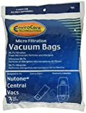 EnviroCare Generic Paper Bags for Nutone Central Vacs 3ea.