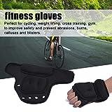 KLOP256 Gewichtshandschuhe, 1 Paar Sport Fitness Gym atmungsaktiv Training Hand Sandsack Gewicht Lager Handschuhe, nicht null, blau, Free Size - 8