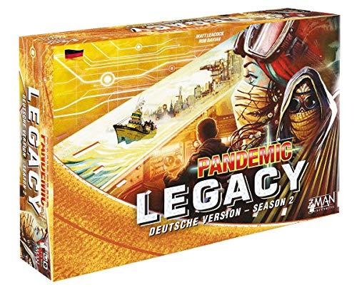 Pandemie Legacy - Season 2 - Brettspiel | DEUTSCH | Gelbe Edition