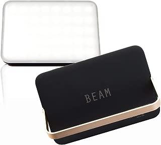 YAEI WORKERS (ヤエイワーカーズ) BEAM ビーム LEDランタン LEDライト 1200ルーメン キャンプ アウトドア USB 充電式 暖色 電球色 昼光色 3色切り替え モバイルバッテリー 防災 16000mAh
