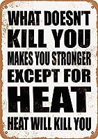あなたを殺さないものブリキ看板ヴィンテージ錫のサイン警告注意サインートポスター安全標識警告装飾金属安全サイン面白いの個性情報サイン金属板鉄の絵表示パネル