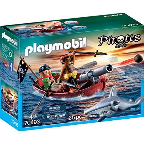 Playmobil 70493 - Piratenboot mit Kanone
