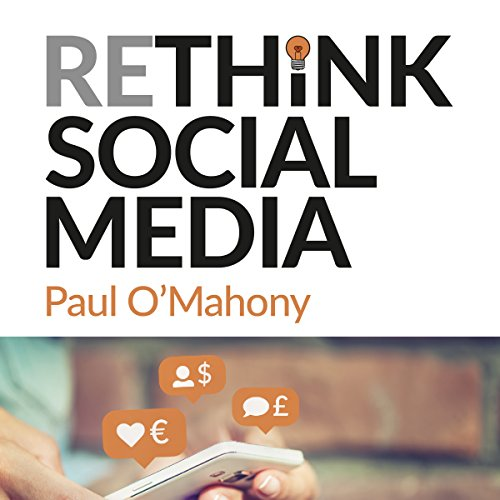Rethink Social Media audiobook cover art