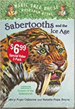 Magic Tree House 2 Book Set (Sunset of the Sabertooth #7, Sabertooths and the Ice Age)