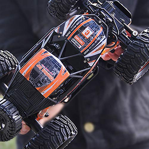 Ycco 1.14 RC 4WD High-Speed-Amphibienfahrzeug Wasserdicht Off-Road Elektro-Radio Auto 20 Km/H 2,4 GHz Dual Motors Racing Monster Crawler 360 ° Stunt Driften Kletterfahrzeug-Jungen-Geburtstags