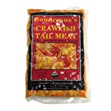 Crawfish Tail Meat, Frozen - 1 Lb (Pack of 10)