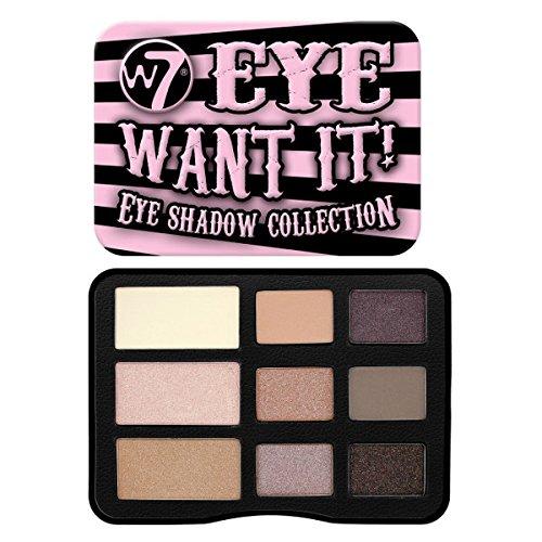 W7 Eye Want It! Sombras de ojos, 10 g