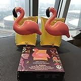 BOYAN Bandas de brazo inflables para niños, formas de frutas y animales, flotadores para que los niños aprendan a nadar (flamencos)