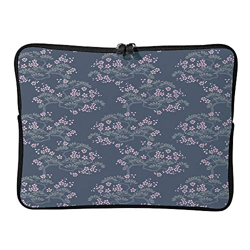 C COABALLA Sleeve Tablet Protective Bag Leaf, Abstract Japanese Plum Blossoms Nature Custom Tablet Sleeve Bag Case AM020258 10 inch/10.1 inch