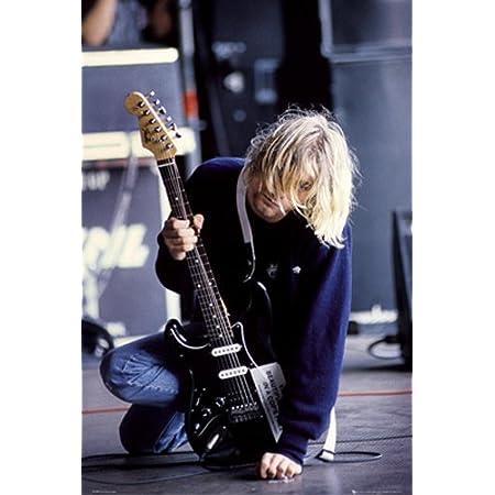 "Kurt Cobain Nirvana **UK SELLER** Large 24/""x 33/"" A1 Size Glossy Poster 1"