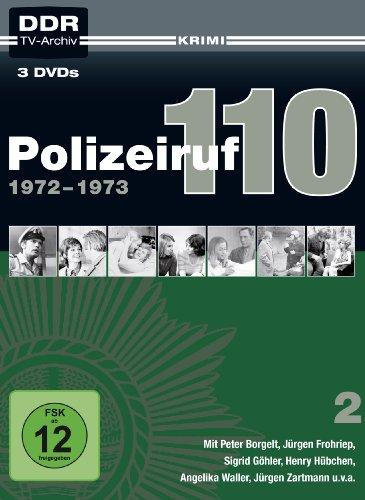 Polizeiruf 110 - Box 2: 1972-1973 (DDR TV-Archiv) (3 DVDs)