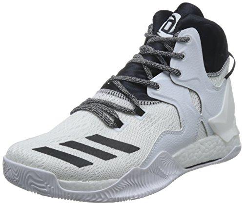 adidas D Rose 7 B54137 Herren Basketballschuhe Weiß - Grösse: EU 50 2/3 UK 14.5