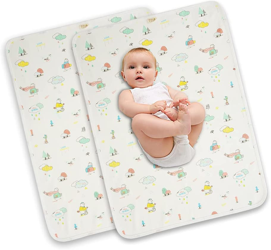 QINHU Diaper Excellent Changing Some reservation Pad M Portable Waterproof