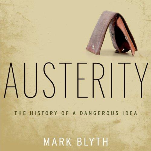 Austerity audiobook cover art