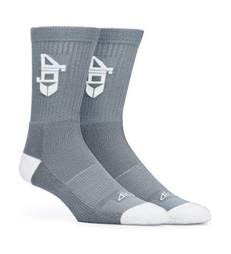 Dig Lot de 3 paires de chaussettes en fibre de bambou - Gris -