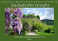 Zauberhaftes Kinzigtal (Tischkalender 2022 DIN A5 quer): Das idyllische Kinzigtal im Schwarzwald bietet Natur pur und idyllische Orte in einer sonnenreichen Region (Monatskalender, 14 Seiten )