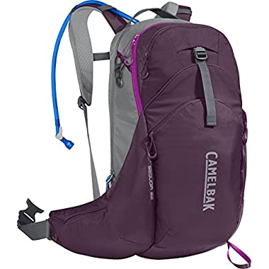 CamelBak Sequoia 22 100 oz Hydration Pack, Plum/Purple Cactus Flower