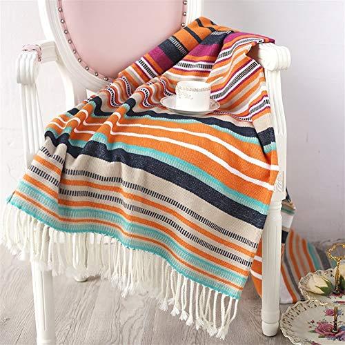 LOOEST Suave Manta Crochet Kit - Kit con Todo Incluido for un Estilo de época de Ganchillo Casa Dormitorio (Color : Green, Size : 130x150+10x2cm)