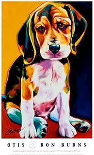Otis Animal Art Poster Print by Ron Burns, 18x24