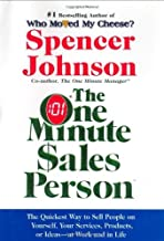 By Spencer Johnson One Minute Sales Person [Hardcover]