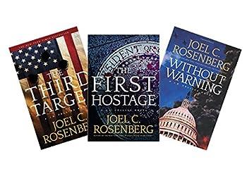 Joel C Rosenberg J.B Collins Trilogy Set  The Third Target + The First Hostage + Without Warning