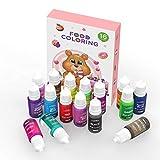 【Movilidad Buena】El colorante alimentario fluye, puede mezclarlo para producir bueno efecto de color.