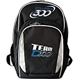 Columbia 300 Bags Team C300 Bowling & Shoe Backpack (Black/Silver)