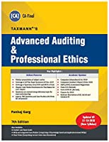 Taxmann's Advanced Auditing & Professional Ethics | CA Final-New Syllabus | Updated till 31-10-2020 | 7th Edition | December 2020