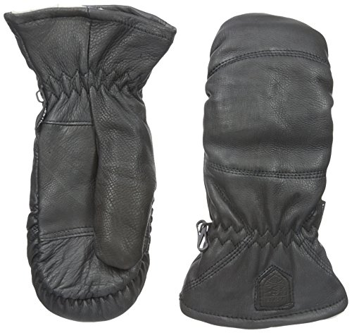 Hestra Leder Box Handschuhe Unisex, Unisex, schwarz, 9