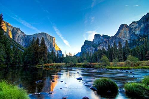 1000 Piezas De Rompecabezas De Papel De Madera Para Adultos, Niños, Cartel Educativo Del Parque Nacional De Yosemite, Decoración De Ensamblaje De Madera Para El Hogar, Juego De Juguetes, Juguetes Edu