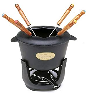 Norpro Cast Iron Fondue, 1 EA, Black