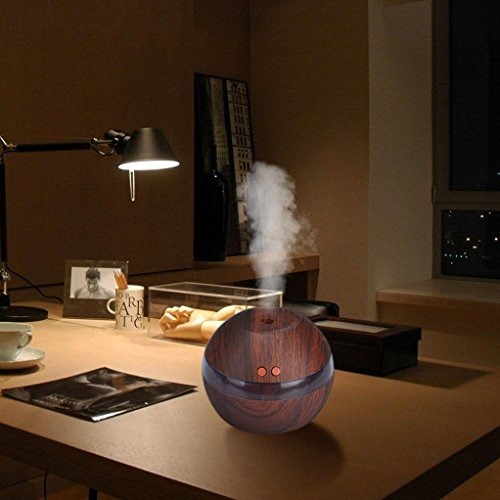 Sale!! Yoyorule Diffuser, Essential Oil Diffuser LED Ultrasonic Air Aroma Aromatherapy Humidifier fo...