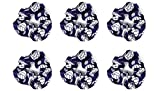Softball Volleyball Hair Scrunchies for Girl Team Gift by Daisy Lane - Set of 6 (Volleyball)