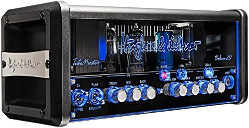 Review Of Hughes & Kettner TubeMeister 20 Deluxe Head Black