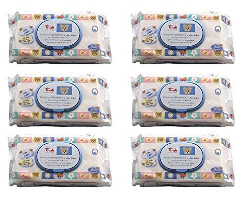 432 Salviettine Trudi Baby Care 6 Confezioni
