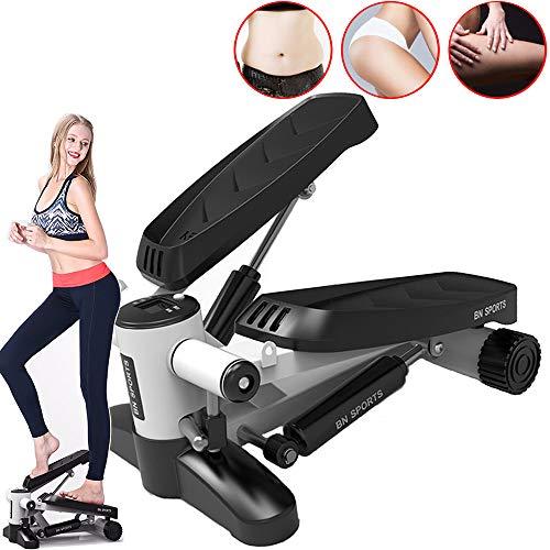 CNKSKXK pedaal huishouden stapper/fitnessapparaat, mini hydraulische machine, fitnessapparaten multifunctionele steppers (met touw)
