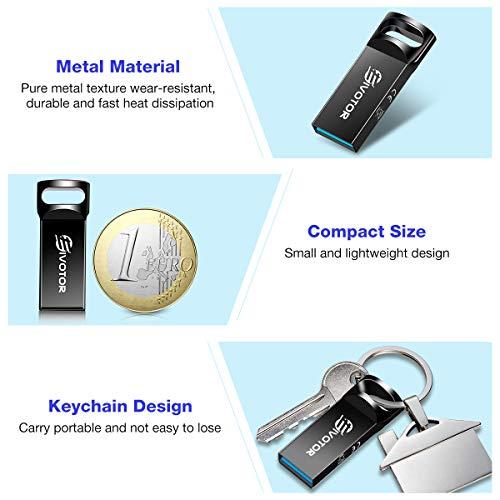 USB Stick 64GB, EIVOTOR Memory Stick USB 3.0 Flash Drive Mini Speicherstick Wasserdicht USB Flash Laufwerk Pendrive Data Traveler Geschenk für Schule Büro Auto PC Kinder