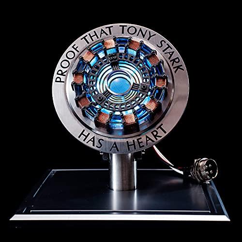 Tables Iron Man Arc Reaktor Brust Lampe, Legierung Reaktor Modell Spielzeug Hobby Sammlung Freund Geschenk MK1