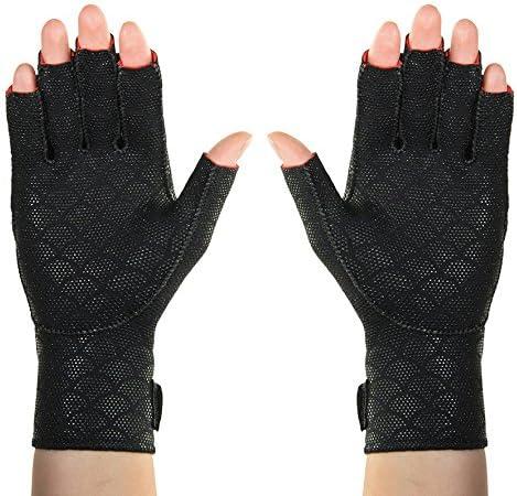 Thermoskin Premium It Ranking TOP20 is very popular Arthritic Gloves Black Pair Medium