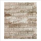 5 piezas 77 * 70cm 3D Pegatinas de pared (Mármol)