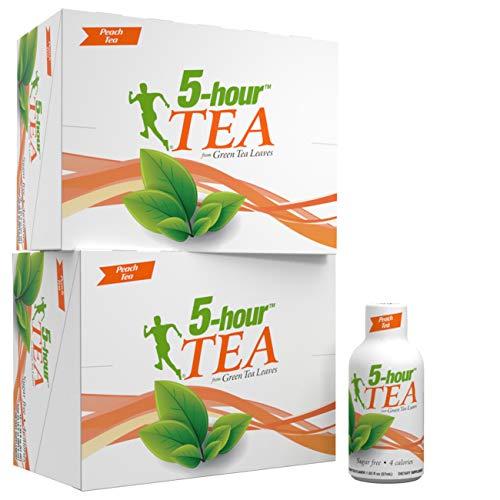 5-hour TEA, Peach Tea Flavored Energy Shots, 1.93 oz, 24 Count