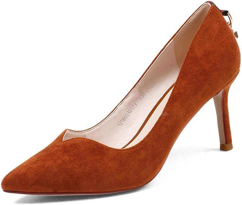 XZGC High Heels Feine Mode Schuhe Hingewiesen